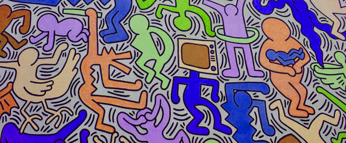 Toys keith haring