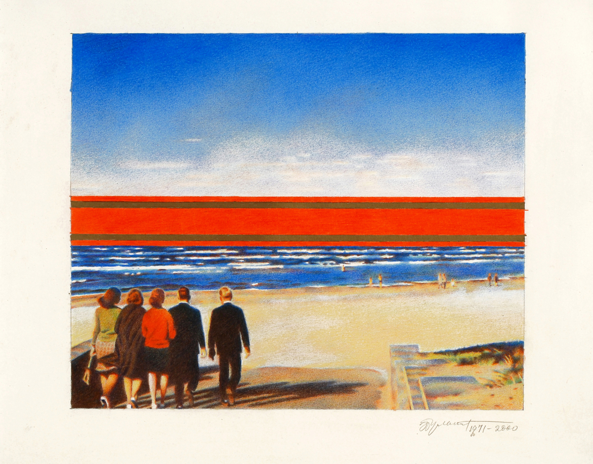 Bulatov  red horizon  1971 2000  11x12.25