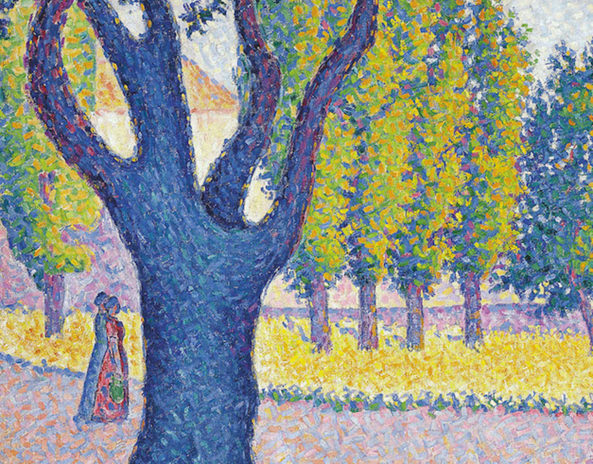 Signac saint tropez fontaine des lices 1895 copy