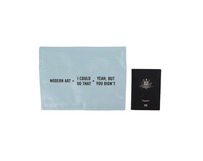 Modern art wallet