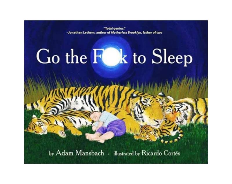 Go the f  k to sleep cover