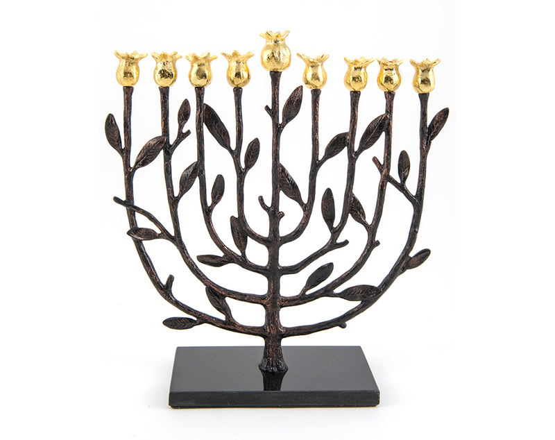 Michael aram kosher pomegranate menorah