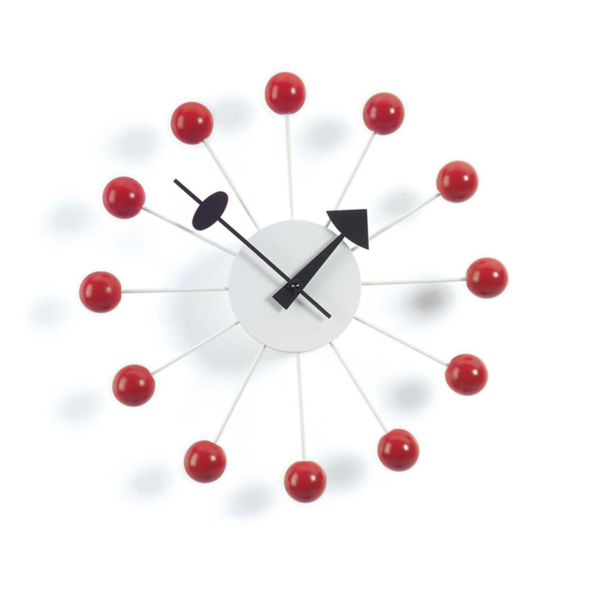George nelson ball clock red vitra 1