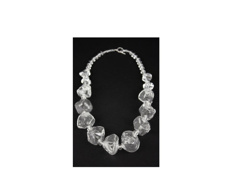 Crystal clear glass nugget necklace jz032cl 1024x1024 edited 1