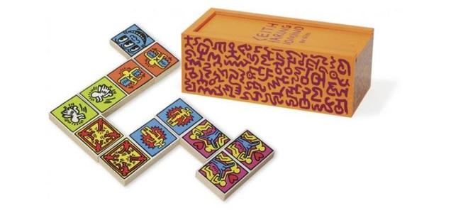 Keith haring colored dominoes 1 grande