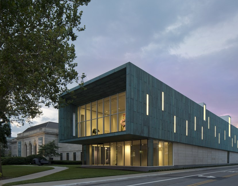 Columbus museum of art adds bold new expansion to 1931 building 01